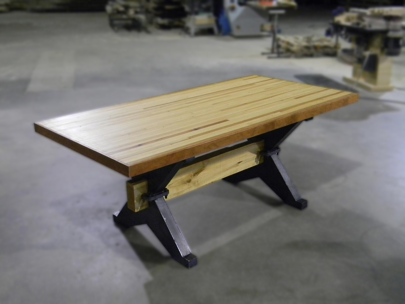 Bowling Alley X Trestle Table
