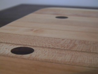 bowling alley cutting board