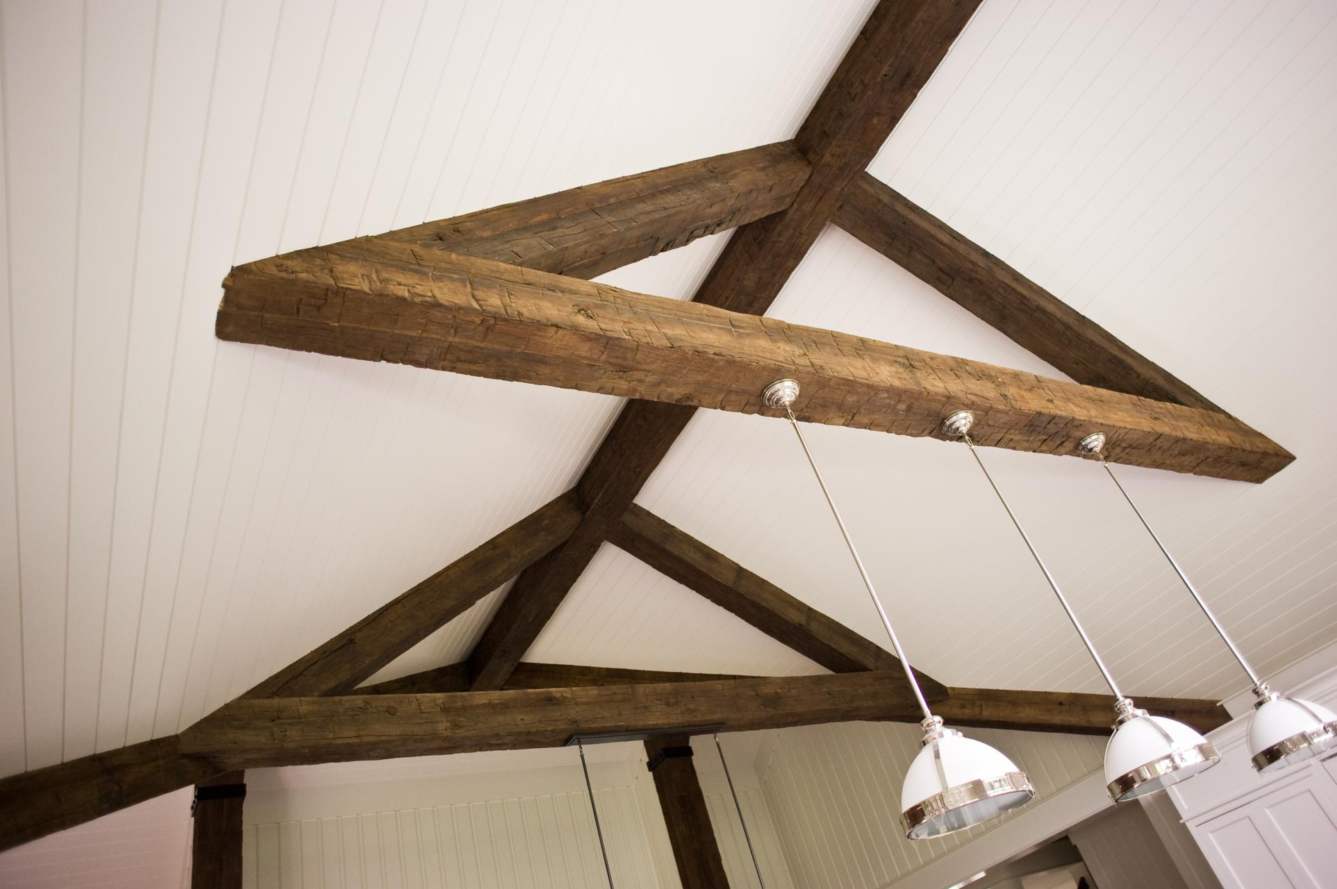 Hand hewn faux beams for Where to buy faux wood beams