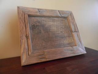 custom reclaimed picture frame