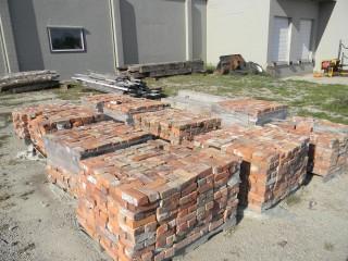reclaimed soft mortar brick