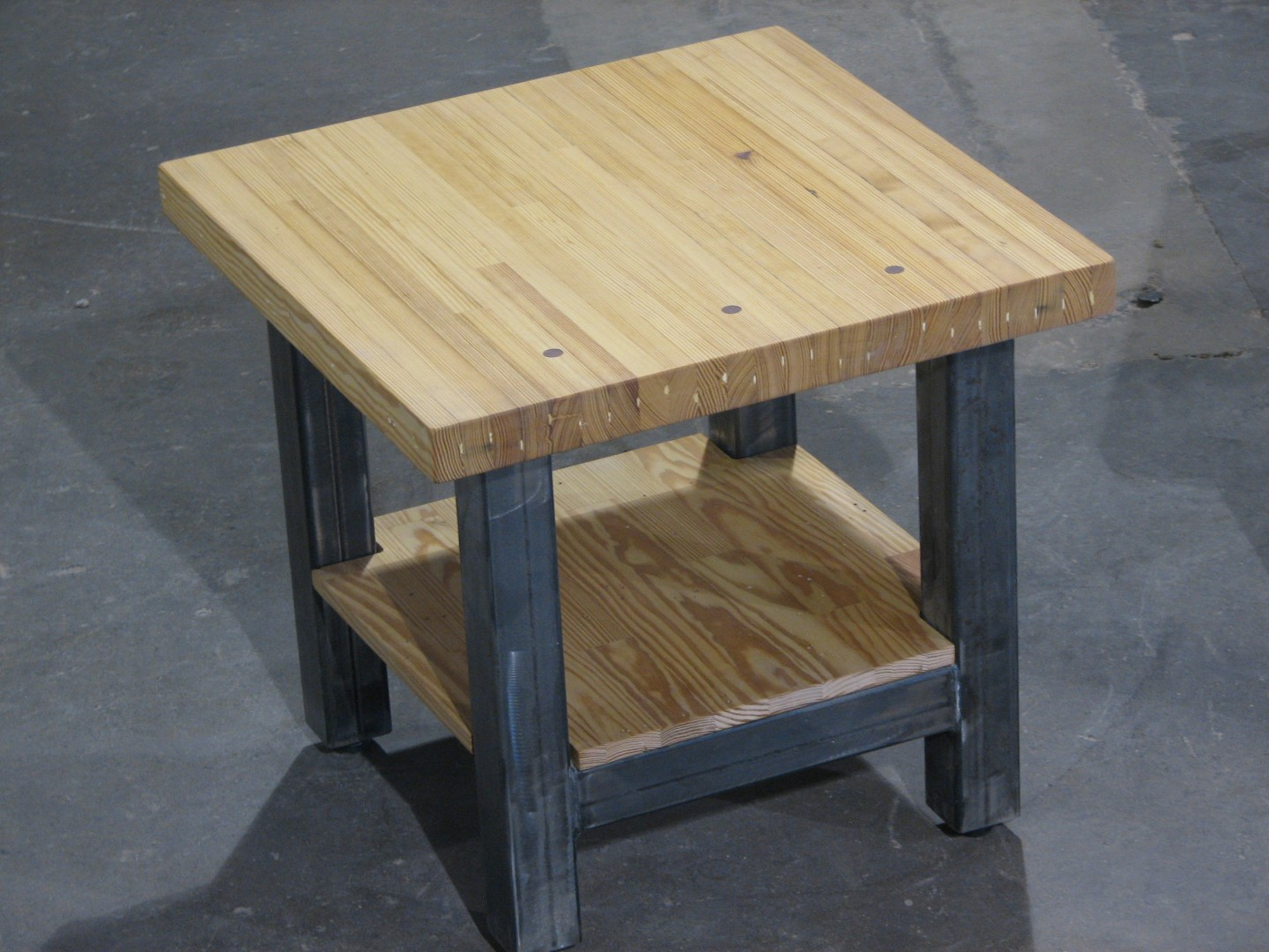 ... Bowling Alley End Table U2013 Chamberlin Series ...