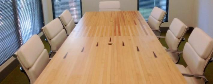 ecoJacks conference table featured in new Büro Miami location