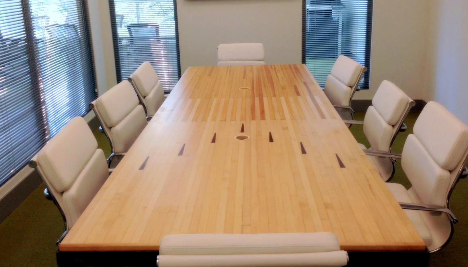 EcoJacks Conference Table Featured In New Büro Miami Location - Conference table miami