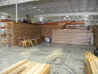 Full Length Reclaimed Bowling Alley Lane