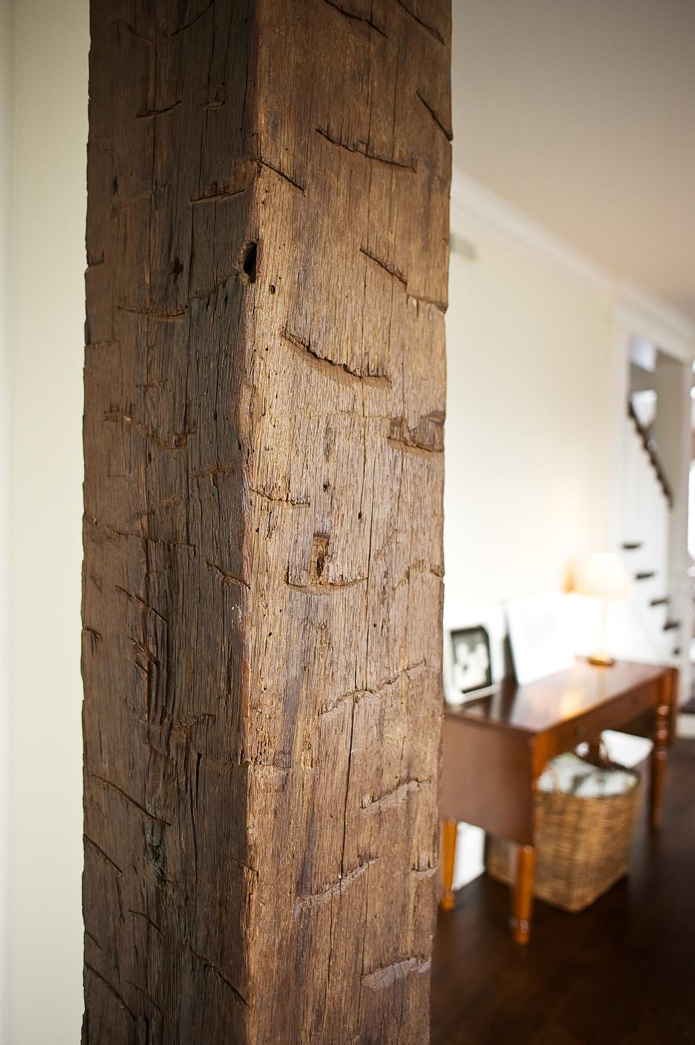 Hand Hewn Faux Beams